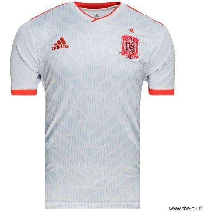 Maillot Espagne Extérieur Enfant Football Gris Adidas