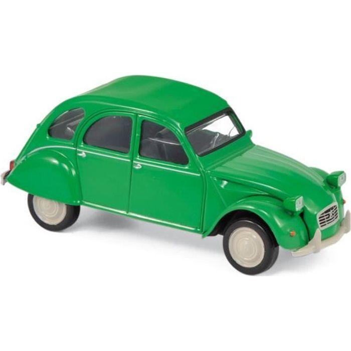 Miniatures montées - Citroen 2CV Vert 1979 1/43 Norev