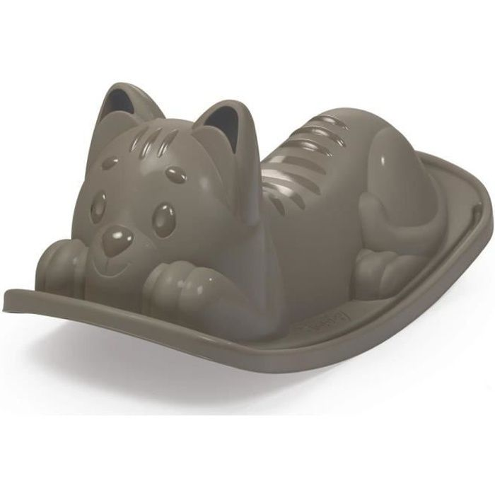 SMOBY Bascule Chat Gris Plein Air