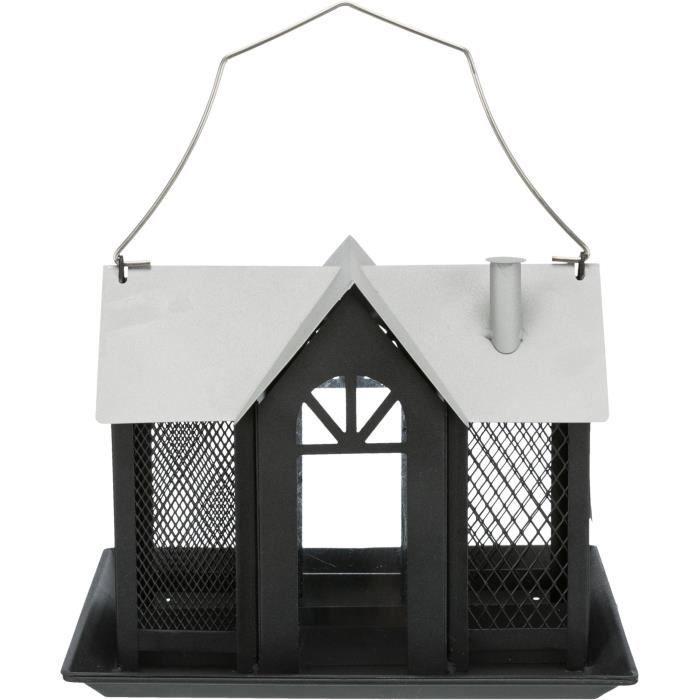 Trixie - Mangeoire oiseau Villa en métal