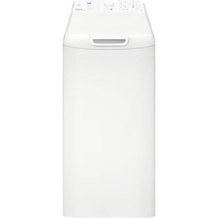VEDETTE CVT500W - Lave linge top - 5,5 kg - 1100 tours / min - A+ - Blanc