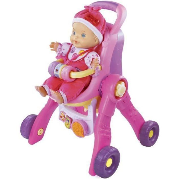 VTECH Little Love - Ma Poussette 3 en 1 interactive