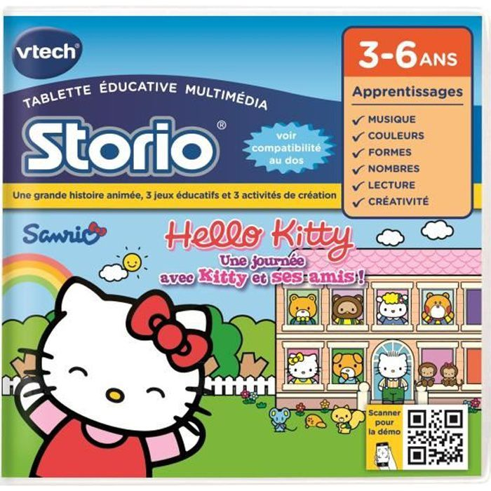 VTECH - Jeu Éducatif Storio - Hello Kitty