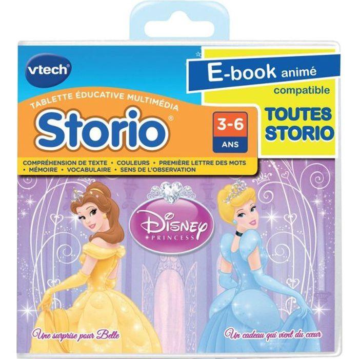 VTECH Jeu Storio Disney Princesses