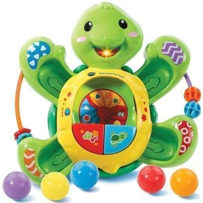 VTECH BABY - Tortue Tourni Pop'Balles