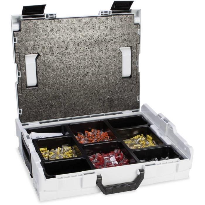 Assortiment de bornes pour boîte de dérivation 729 pièces WAGO 887-913 flexible: 0.14-6 mm² rigide: 0.2-6 mm² 1 set