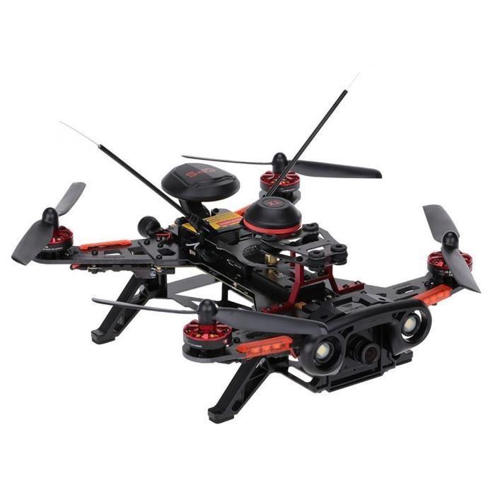 Drone rc, Walkera 2.4GHz Runner 250 Advance à télécommande avec caméra 1080p et GPS et OSD, aucun contrôleur à distance