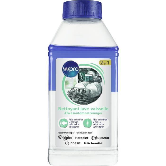 LIQ105 - Liquide dégraissant et détartrant pour lave-linge et lave-vaisselle - 250 ml
