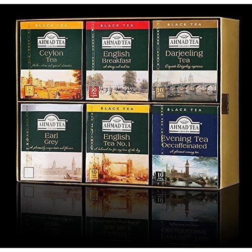 THÉ Coffret Sélection de 60 sachets de thés Classiques