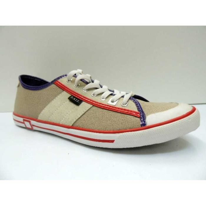 Chaussure Baskets Basse Date Tender Low Beige Homme Pointure 42 b871zzN6