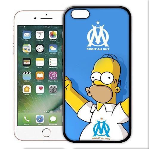 coque iphone 7 homer simpsons om marseille