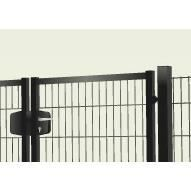 Portillon double grillage 200x203cm achat vente for Portillon jardin grillage