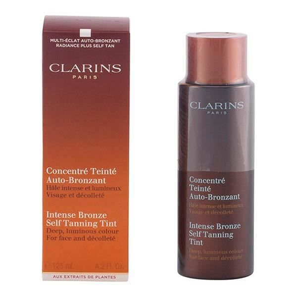 clarins sun concentr teint autobronzant intense 125ml achat vente autobronzant clarins. Black Bedroom Furniture Sets. Home Design Ideas