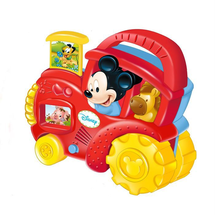 le tracteur de mickey parlant achat vente voiture camion le tracteur de mickey parlant. Black Bedroom Furniture Sets. Home Design Ideas