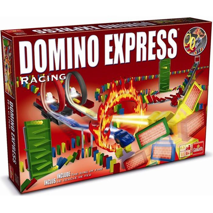 dominos express racing achat vente domino memory loto dominos express racing cdiscount. Black Bedroom Furniture Sets. Home Design Ideas