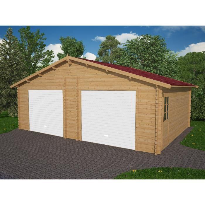 Garage Double Bois 36 97m 2 Portes Incluses Achat Vente