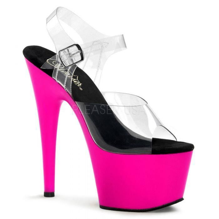 ADORE-708UV Transparent/rose fluo