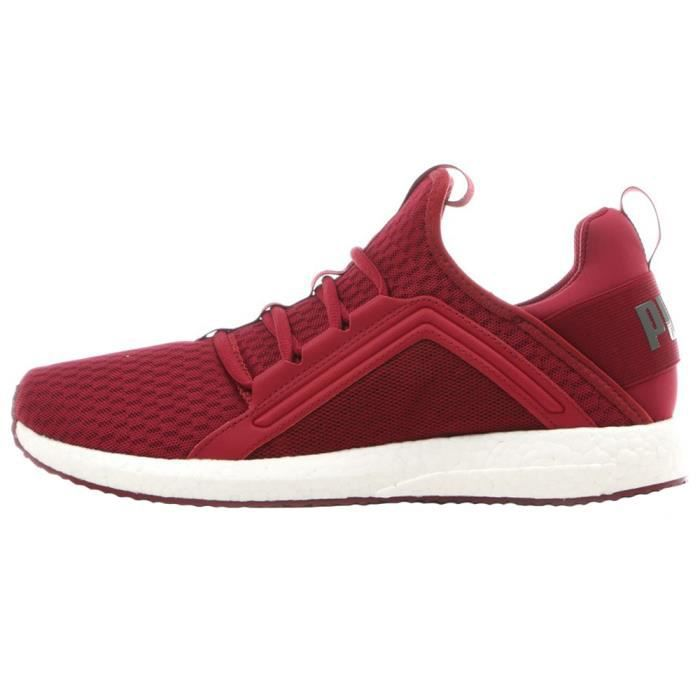 chaussure homme rouge puma