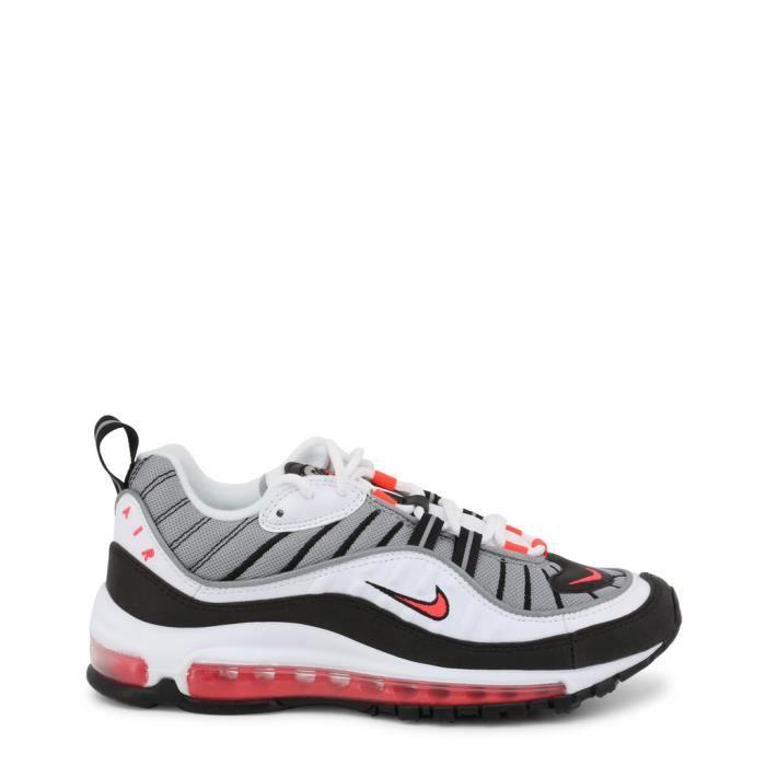 Nike AirMax 98 authentique Blanc - Achat / Vente basket ...