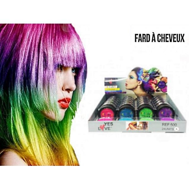 coloration 1 craie fard a cheveux coloration temporaire yes l - Coloration Cheveux Temporaire
