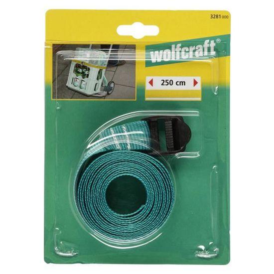 Wolfcraft 3281000 Sangle de serrage /à boucle Longueur 250 cm