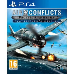JEU PS4 Air Conflicts Pacific Carriers Jeu PS4