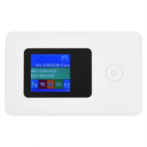 MODEM - ROUTEUR MODEM - ROUTEUR carte SIM Routeur WiFi Modem 4G 2.