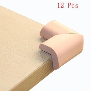 N//A Lot de 2 Meubles en Mousse pour Table de Bureau Coussinets de Protection de Bord Coussins dangle Protections de Pare-Chocs Gris