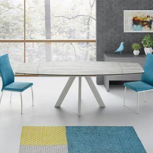 TABLE À MANGER SEULE Table extensible 90x140/210cm Soja par ZENDART SEL