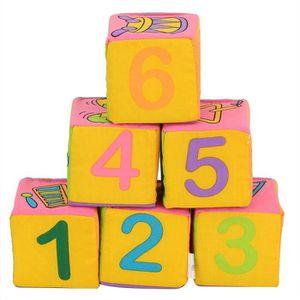 CUBE ÉVEIL Cube en Tissu pour L'éveil de Bébé Cube D'activité
