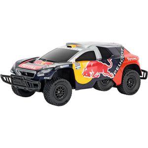 VOITURE - CAMION CARRERA - Voiture télécommandée Peugeot Red Bull D