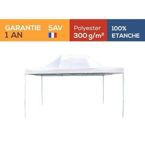 TONNELLE - BARNUM Tente pliante Barnum Tonnelle 3x4.5m polyester 300