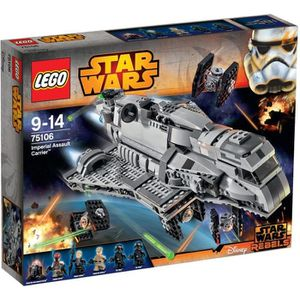ASSEMBLAGE CONSTRUCTION LEGO® Star Wars 75106 Imperial Assault Carrier™
