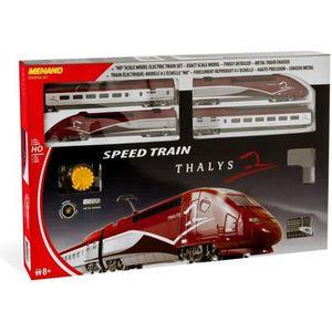 VOITURE - CAMION MEHANO Coffret de train TGV THALYS - Circuit de tr