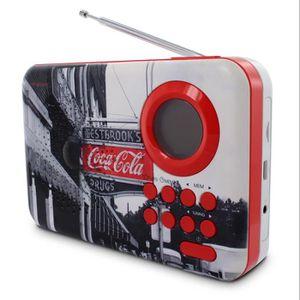 RADIO CD CASSETTE Radio FM MP3 Coca-Cola West Street