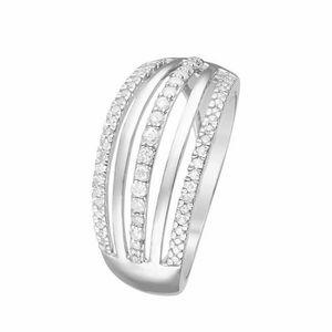 bague en or blanc et diamant pas cher