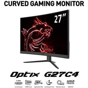 ECRAN ORDINATEUR MSI Optix G27C4 Moniteur Gaming 27
