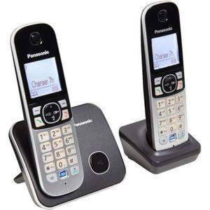 Téléphone fixe PANASONIC Téléphone numérique résidentiel dect ave