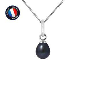 SAUTOIR ET COLLIER Pendentif - Perle de Culture d'Eau Douce 5-6 mm No