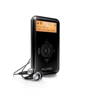 RADIO CD CASSETTE Pure Move 2520, Portable, Numérique, DAB,DAB+,DMB-