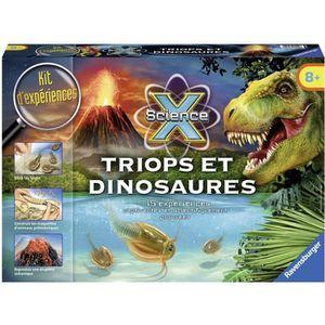 HISTOIRE - GEO SCIENCE X RAVENSBURGER Triops & Dinosaures Jeu Edu