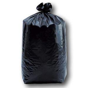 SAC POUBELLE Lot de 10 sacs poubelle pour gravat 50 litres 140u