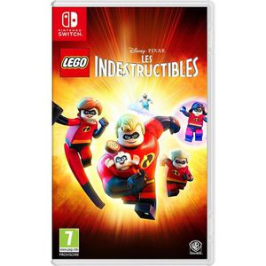 JEU NINTENDO SWITCH LEGO LES INDESTRUCTIBLES  SWITCH + 1 Mochi Squishy