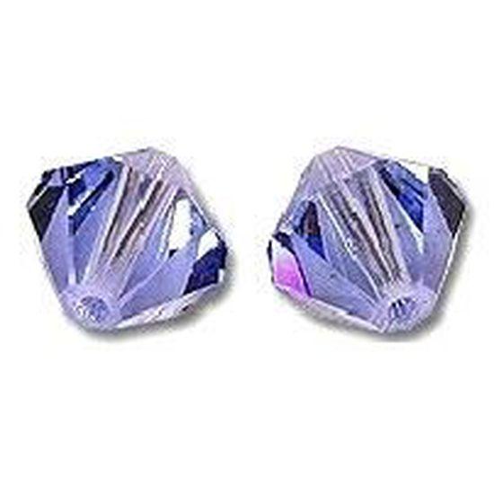 10 Perles Toupies 3mm cristal Swarovski GARNET