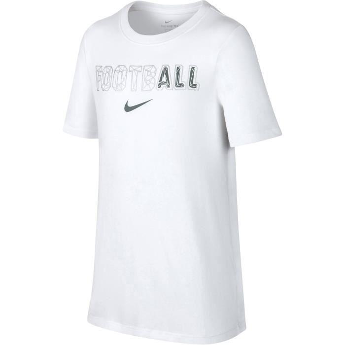 NIKE Maillot de football Dry All - Enfant garçon - Blanc