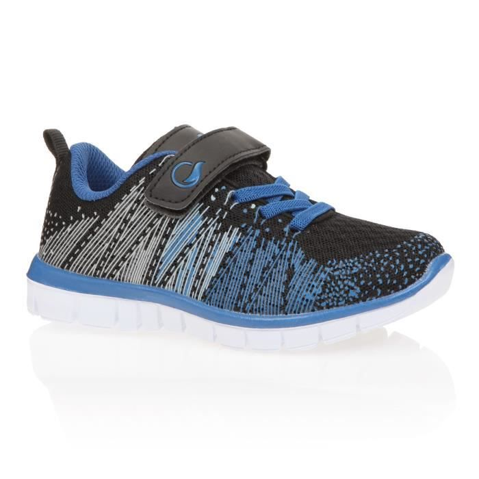 UP2GLIDE Chaussures Multisport BASSKNIT KD G - Enfant Garçon - Noir et bleuCHAUSSURES MULTISPORT
