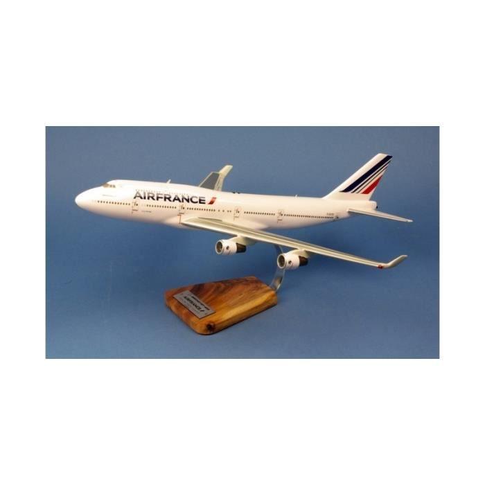 maquette avion - Air France Boeing 747-400 F-GITD Last Flight