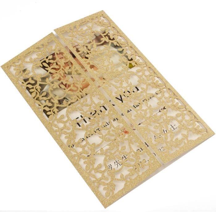 1X feuille ajourée à paillettes bleu Champagne - Livraison gratuite, découpée - Modèle: champagne G laser cover only - KUYQKPB06862