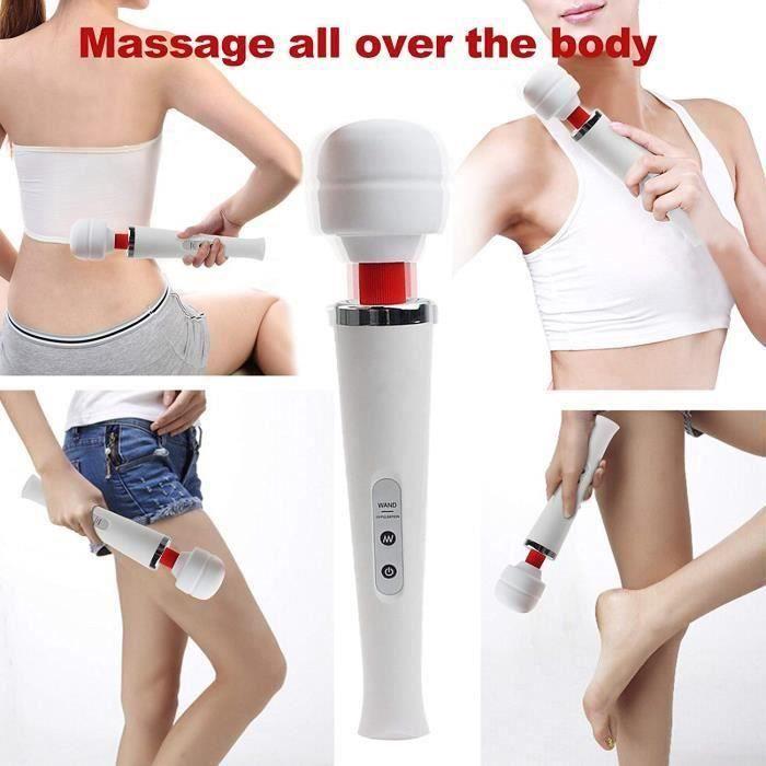 Masseur baguette de massage vibromasseur vibrant stimulateur A55436