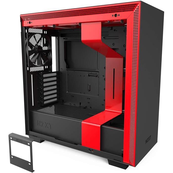 BOITIER PC NZXT H710 - Bo&icirctier PC Gaming Moyenne Tour ATX- Port I-O USB Type-C en Fa&ccedilade - Panneau Lat&eacuteral &11